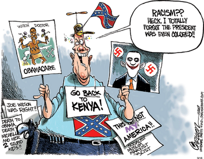Birthers-forgot-racism